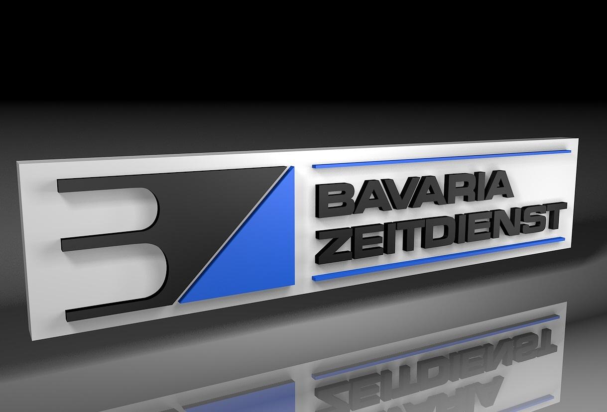 Logo Bavaria Zeitdienst 3D
