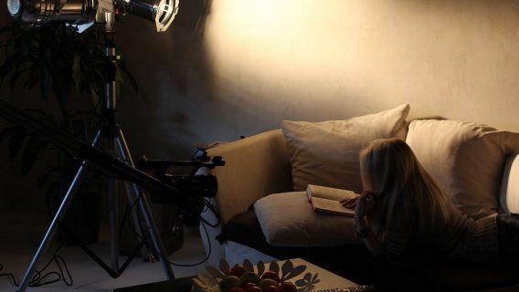 Set Foto vom Dreh eines Musikvideos für die Band Roxxess