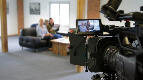 Video roxx ! beim Dreh eines Corporate Films