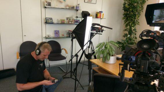 Holger Gollwitzer bei Audio Einstellungen