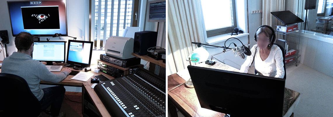 Sprecher und Sounddesign